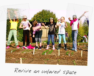 Revive an unloved space